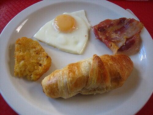Een vet ontbijt