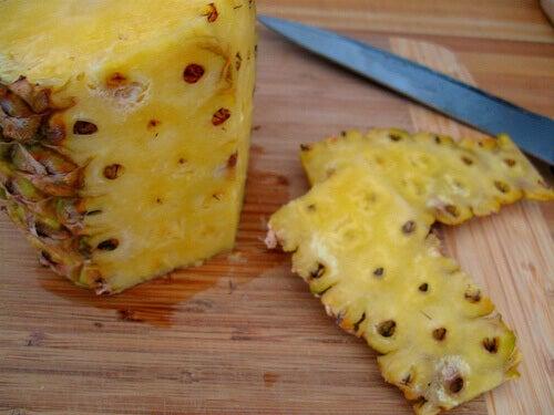 ananas-schil