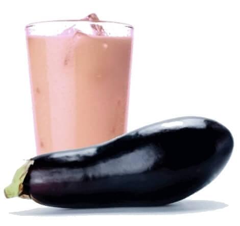 Smoothie met aubergine