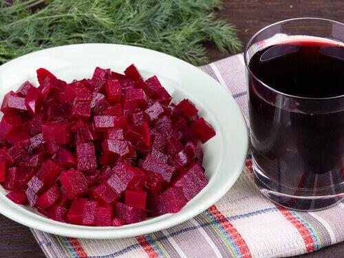 Gezonde recepten met rode biet
