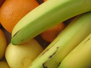 Bananen en sinaasappels