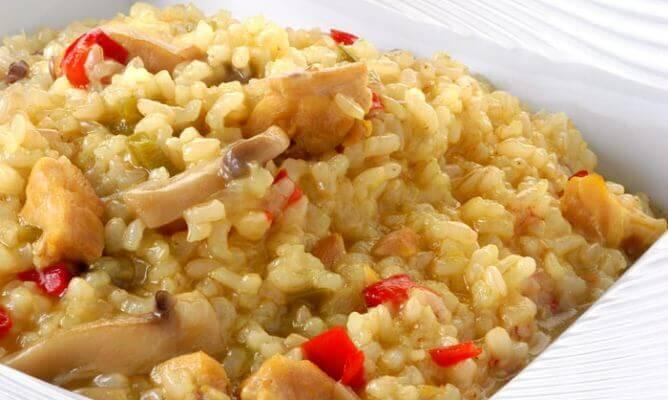 avondmaaltijden met rijst