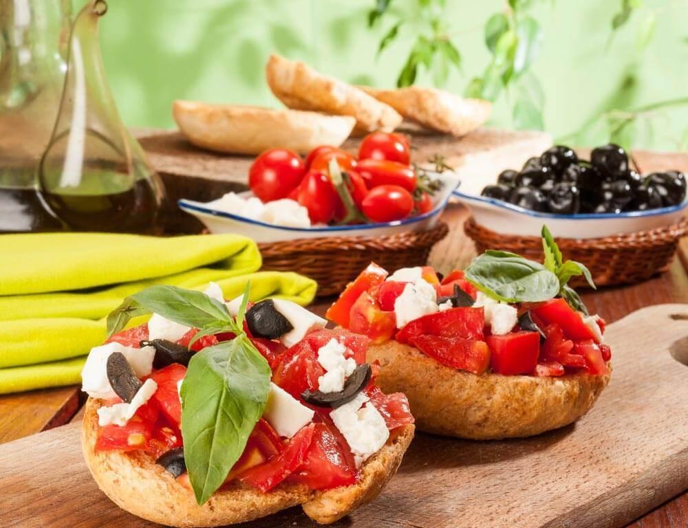 Mediterrane gerechten