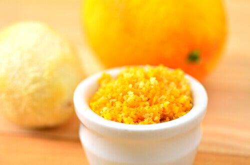 Hoe de schil van citrusvruchten optimaal te gebruiken