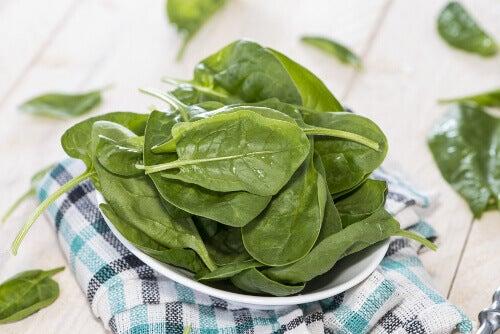 Astma bestrijden met spinazie