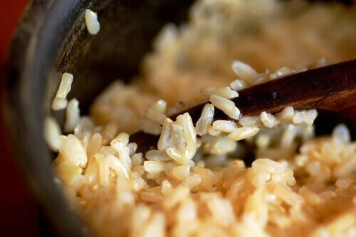 pan met rijst