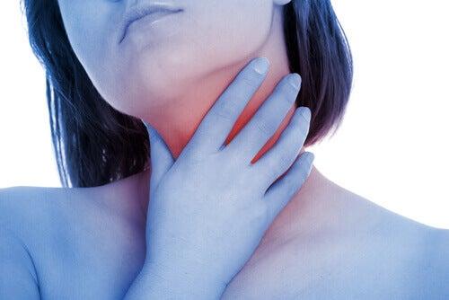 vrouw-keel