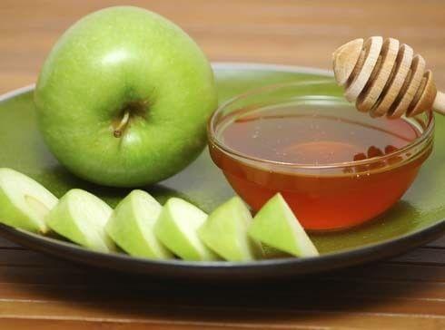 Verstevigende gezichtsmaskers met appel en meloen