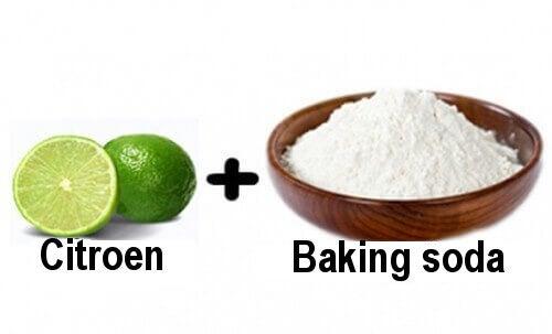citroen en baking soda