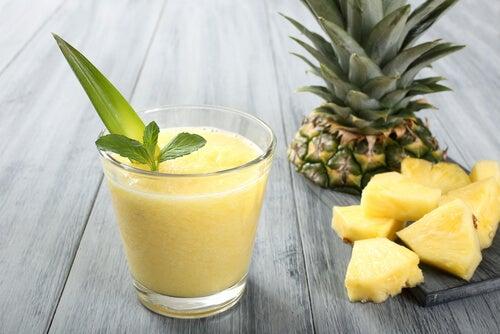 Boerenkool-ananasshake