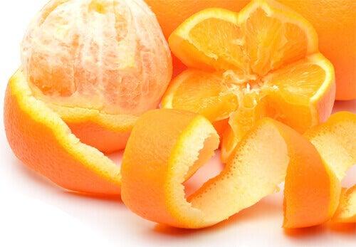 gepelde sinaasappel