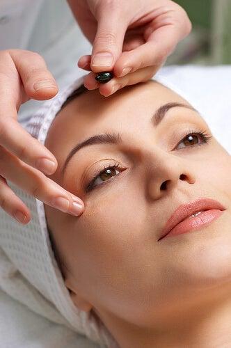 gezichts-massage