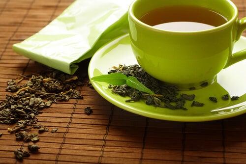Groene thee tegen gewrichtspijn