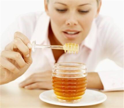 Honing in een pot