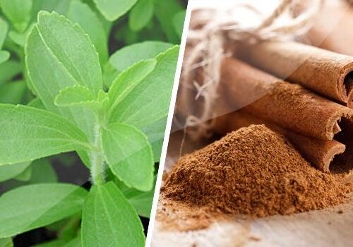 Het behandelen van diabetes met stevia en kaneel