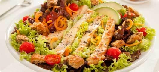 lijnzaad-salade