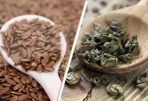 Lijnzaad en groene thee, bondgenoten tegen kanker