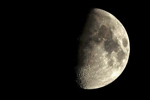 Een halve maan