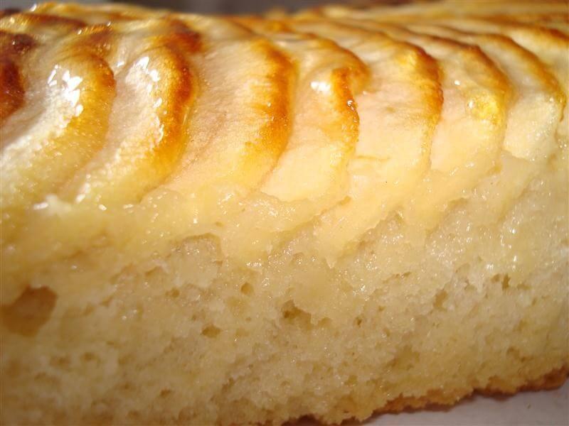 Recept voor sponscake met appel