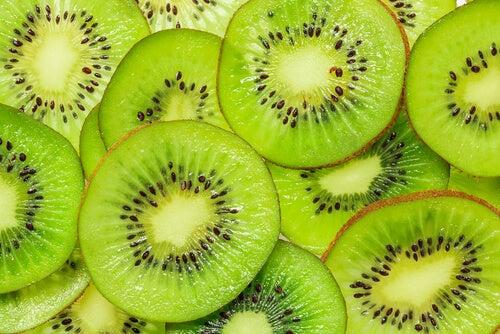 Kiwi is goed voor de spijsvertering