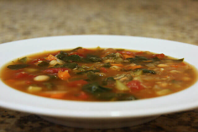bord soep