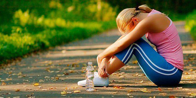 Vermoeidheid na Sporten