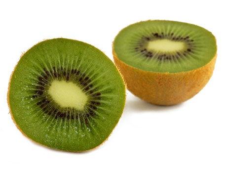 gesneden kiwi