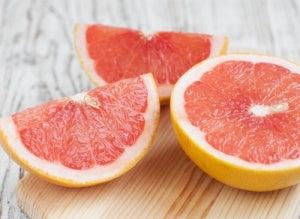 Grapefruit tegen een vette lever