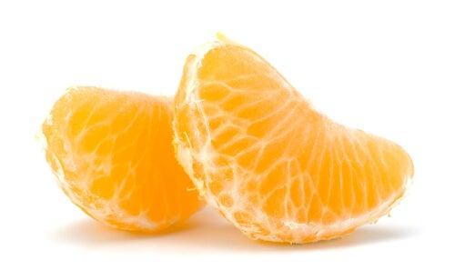 Eet mandarijnen om vet te bestrijden
