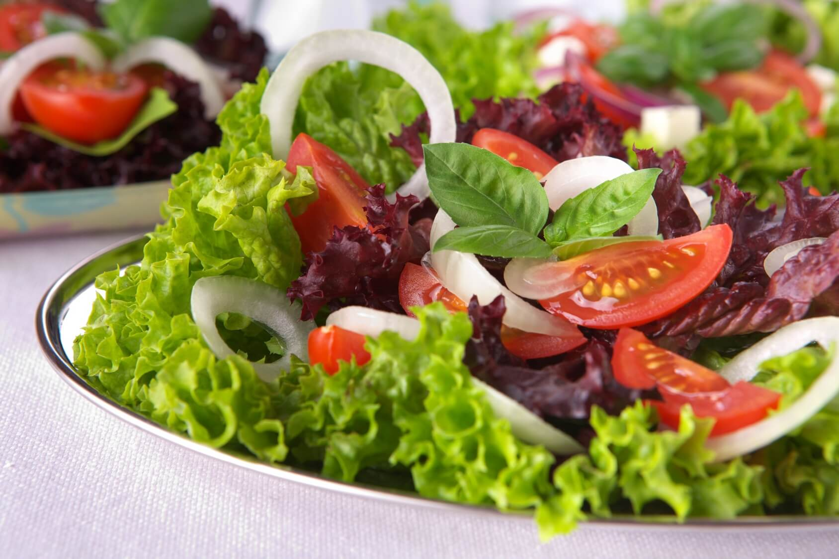 Afvallen met salades