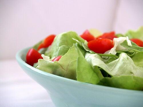 Salade met Tomaat