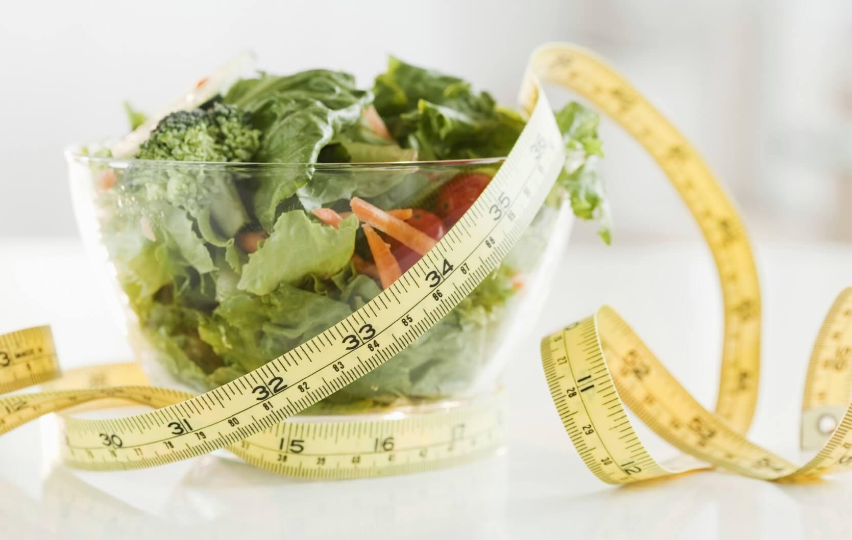 Gewicht verliezen met salade
