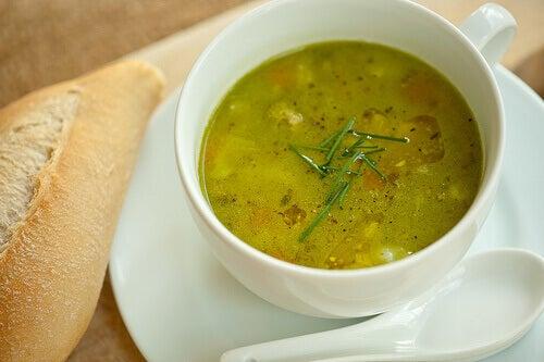 kopje soep