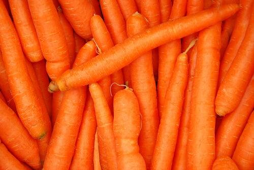 wortels goed voor huid