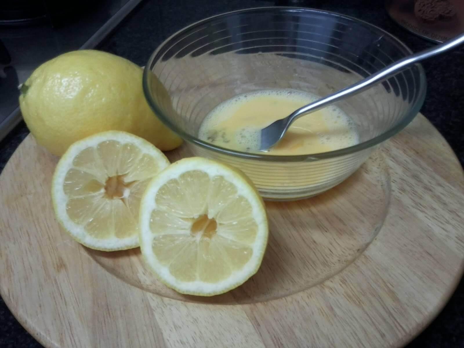 Recept huisgemaakte citroentaart