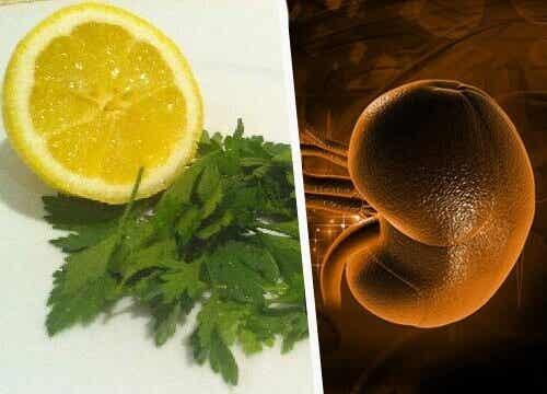 Peterselie en citroen om je nieren te ontgiften