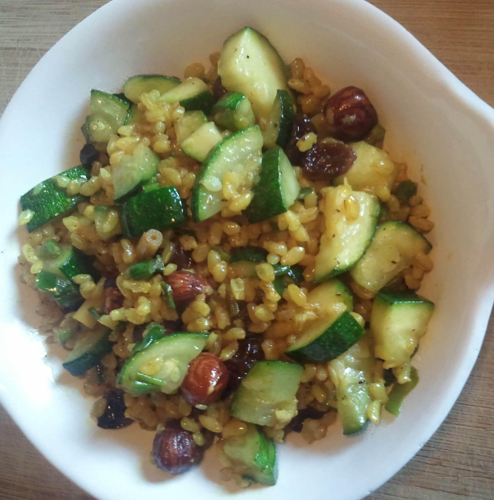 rijst-met-courgette