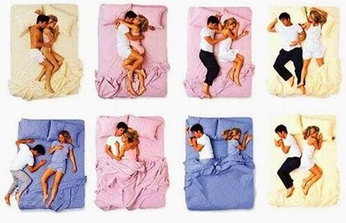 Wat je slaappositie zegt over je relatie