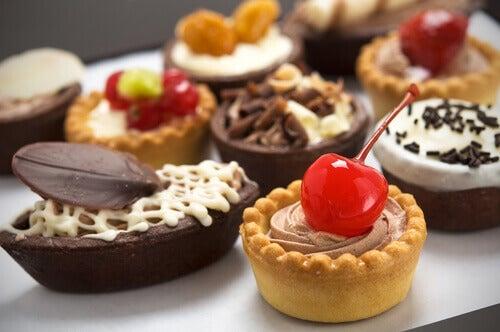 Voedingsmiddelen rijk aan suiker