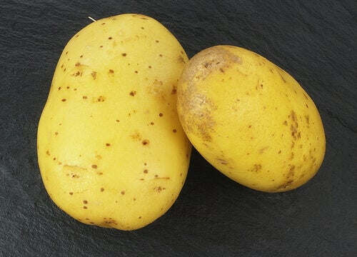 Twee aardappels