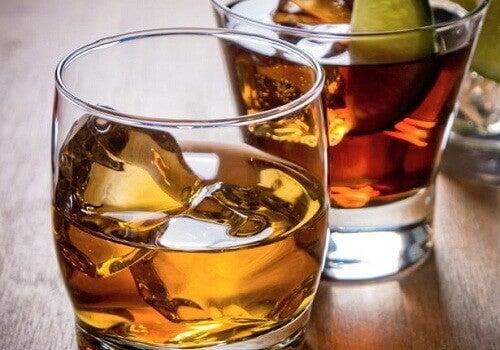 Alcohol kan snurken veroorzaken
