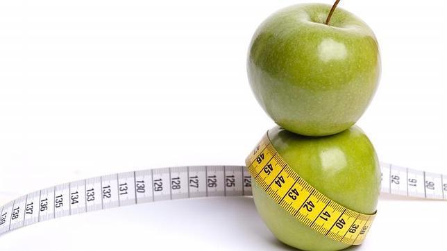De appel is goed fruit voor een plattere buik