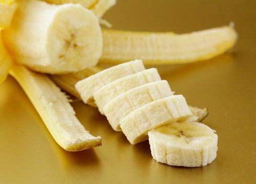 Banaan in Stukjes