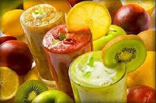 Val af door 1 dag in de week smoothies te drinken