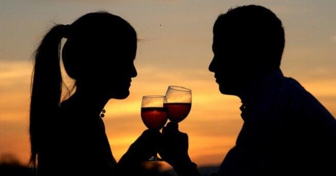 Geliefden met Wijn