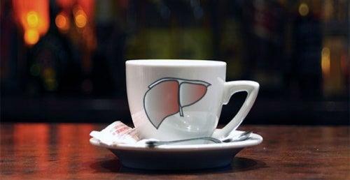 Koffie Beschermt de Lever