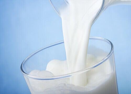 Een glas melk
