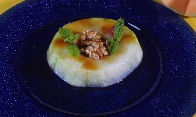 Dessert van Meloen