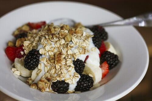 Ontbijt met Muesli