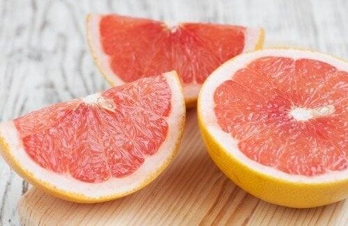 Gewicht verliezen met grapefruit